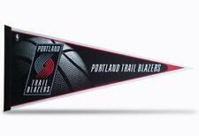 "Portland Trail Blazers NBA Pennant 12""x30"" made in USA FLAG BANNER"
