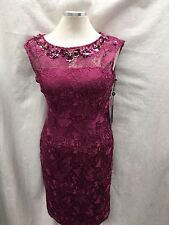 ADRIANNA PAPELL DRESS /NEW WITH TAG/SIZE 6/RETAIL$169/LACE/LENGTH 40'