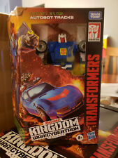 Transformers Kingdom TRACKS War for Cybertron Deluxe Carbot G1 -Ready 2 Ship!