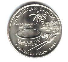 BU American Samoa US Territorial Quarter 2009 P Coin - Philadelphia Mint