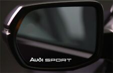 4x Wing Mirror Stickers Fits Audi Sport Graphics Premium Quality PD4