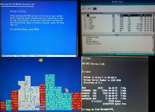 MS-DOS 5.00 Install Disks on 5,25 Floppy Disks(5x)(360 kb DD) Free Ship RetroPC