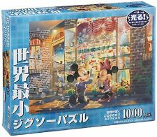 Disney 1000 Jigsaw Puzzle World's Smallest Toy Shop 29.7x42cm Mickey Minnie