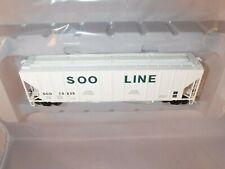 ExactRail Platinum HO SOO Line 50' PS-2CD 4427 Covered Hopper White #70235