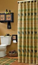"Bear Tracks Shower Curtain 72"" x 72"""