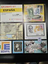SUPLEMENTO 2005 ESPAÑA PARA ENTEROS POSTALES EDIFIL MONTADOS EN BLANCO