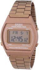 Casio Men's B640WC-5AEF Retro Digital Bronze Stainless Steel Watch