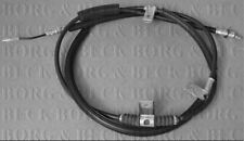 BORG & BECK HANDBRAKE CABLE FOR A CHRYSLER GRAND VOYAGER MPV 2.8 120KW
