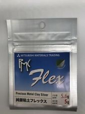 Tracked Free Shipping Silver Clay   PMC Flex 5.6g(silver 5g)  32147-500