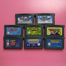 GBA Cartridge Console Card SUPER MARIO Advance World Video Game Card EUR Version