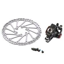 BB7 MTB Bike Brakes Disc Caliper Mechanical Front Wheel+160mm Rotor New RX