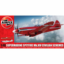Airfix A05139 Supermarine Spitfire MkXIV Civillian Scheme 1:48 Plastic Model Kit