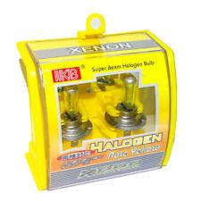 2x H7 DC 12V 100W 3000K HID Xenon Super Yellow Car Headlight Bulb Fog Lamp Bulbs