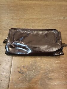 Latico chocolate brown NJ USA Trifold  Magnetic wallet