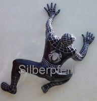 Spiderman Figur Lebensgroß Filmfigur Groß Skulptur Silberpfeill  Schwarz Deko