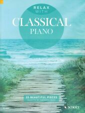 Relax with Classical Piano Sheet Music 33 Beautiful Pieces Piano Book  049045138