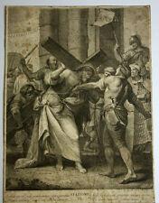 STAZIONE II. ENGRAVING. CALCOGRAPHIA L. WAGNER. G.B. CROSATTO.VENECIA 1779