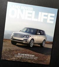 Land Rover OneLife, Die Land Rover Story, Ausgabe 22, 2012, Neu!