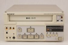 Sony SVO-9500MDP Videocassette Recorder Player VHS SVHS Hi-Fi for Spares Repair