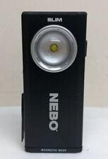 Nebo Slim USB Rechargeable Flashlight Black Work Light COB LED 500 Lumen - 6694
