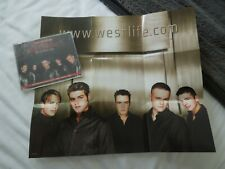 Westlife World Of Our Own RARE CD Single + Poster