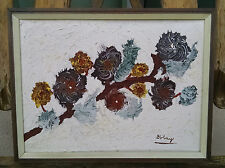 Original Mid Century Modern Oil Painting Signed by Golay