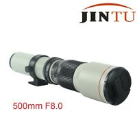 500mm Telephoto F8.0 Lens for Canon T6s T6i T5i T4i 7D 650D 760D 750D 450D 1300D