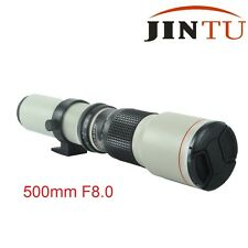 500mm Telephoto F8.0 Lens for Canon T6s T6i T5i T4i 7D 650D 760D 750D 450D 1300D