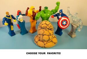 Taco Bell 2001 Marvel Heroes in Action Collectible Action Figure Toys-Choose!