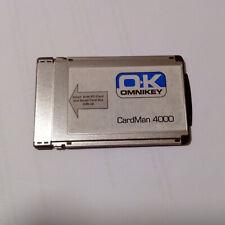 PCMCIA SmartCard Reader Writer Omnikey CardMan 4000 Chipkartenleser