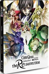 Code Geass: Lelouch of the Re;surrection Steelbook - Official A/B/1 ANIME NEW