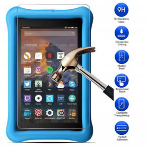 Tempered Glass Screen Protector Cover For Amazon Fire HD 8 Kids Edition 2017