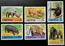 LIBERIA #763-768 Mint NH OG XF (17-13)