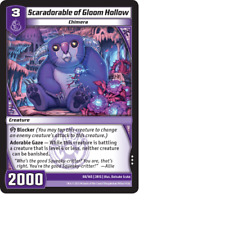 Kaijudo X1 SCARADORABLE OF GLOOM HOLLOW Rare #88/165 3RIS Rise of DUEL MASTERS