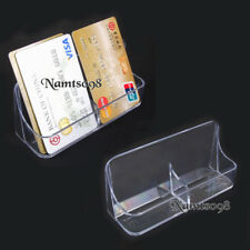 2 x Card Storage Holder Box Vertical Stand pocket/Business Credit/Desk Display
