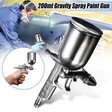 Pistolet à Peinture HVLP K3 Aérographe Pneumatique Gravité Godet 200ml 0.5mm