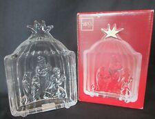 MIKASA Three Kings Crystao Sculpture Evita Germany Christmas Nativity w Box