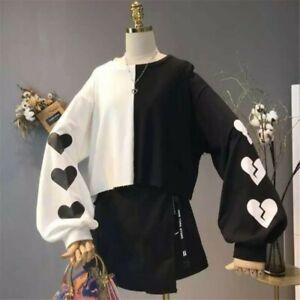 Woman Long Sleeve T-Shirt Harajuku Kawaii Clothing Lolita Girls Sweater Pullover