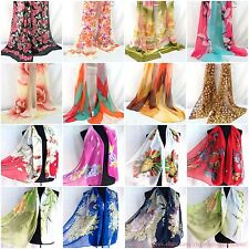 US SELLER |lot of 10 wholesale chiffon scarf wrap neckerchief wholesale shawl