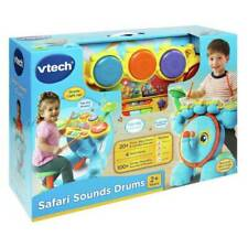 Little Drummer Musician V-Tech Safari Sounds Play Songs Learn Light Up Pad Piano