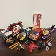 Transformers Armada LOT Of 4 - Red Alert Hot Shot Wheeljack Wind Sheer Sideways