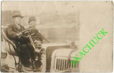 1910s-20s RPPC Photo JAPANESE MEN in AUTOMOBILE San Francisco DUHEM Studio