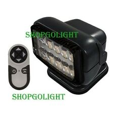GoLight 20514 Permanent Mount Radioray, LED with Remote, Black 20514
