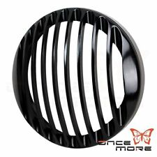 "5 3/4"" CNC Headlight Grill Guard Cover For Harley Sportster XL883 1200 04-14 05"