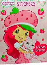 Strawberry Shortcake Friends Foreve Coloring Book w/sticker-Easter Basket Filler