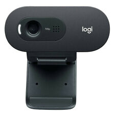 Logitech C270 HD Webcam 720P with Built-in Noise-cancelling Mic
