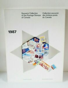 1987 Souvenir Collection Postage Stamps of Canada