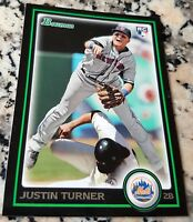 JUSTIN TURNER 2010 Bowman Rookie Card RC Logo LOT Los Angeles Dodgers HOT NLCS