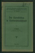 El kartoffelbau en el noroeste de Alemania R. Kuhnert suelo variedades rendimientos 1916