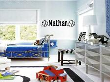 BOYS NAME BASEBALL  Sticker Wall Decal Bedroom 48""